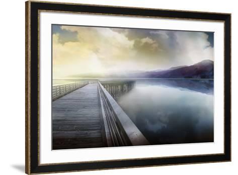 Hazy Morning-Mike Calascibetta-Framed Art Print