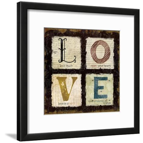Love Much-Carol Robinson-Framed Art Print