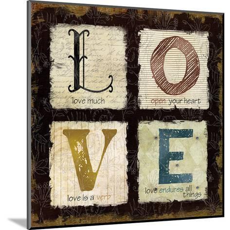 Love Much-Carol Robinson-Mounted Art Print