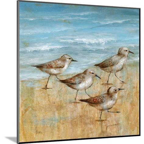 Sandpipers I--Mounted Art Print
