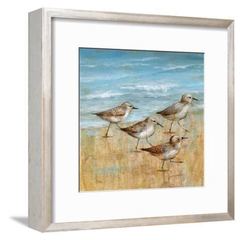 Sandpipers I--Framed Art Print