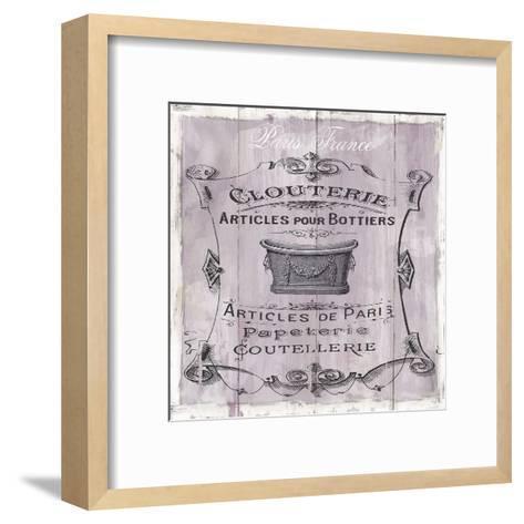French Bath-Carol Robinson-Framed Art Print