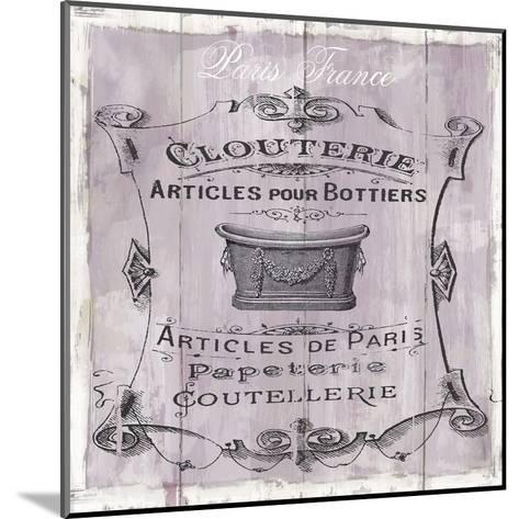 French Bath-Carol Robinson-Mounted Art Print