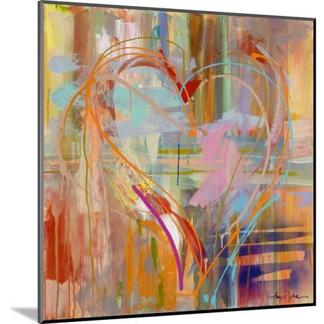 Abstract Heart-Amy Dixon-Mounted Art Print