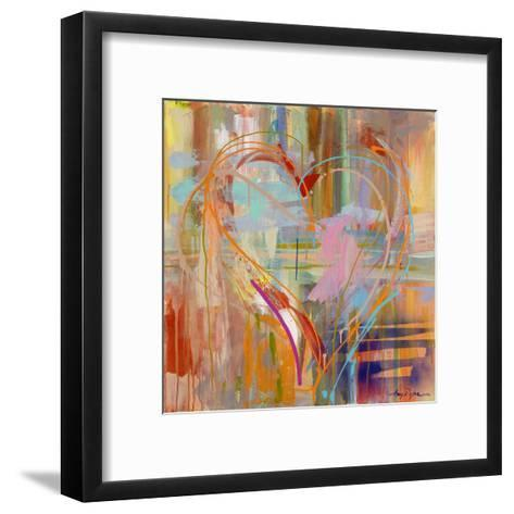 Abstract Heart-Amy Dixon-Framed Art Print