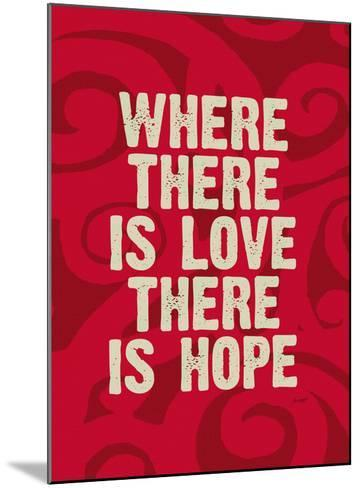 Where There Is Love-Lisa Weedn-Mounted Giclee Print