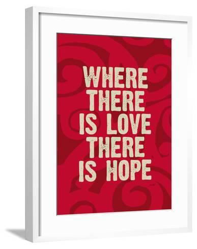 Where There Is Love-Lisa Weedn-Framed Art Print