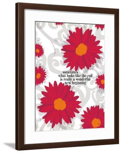 Sometimes What Looks Like-Lisa Weedn-Framed Art Print