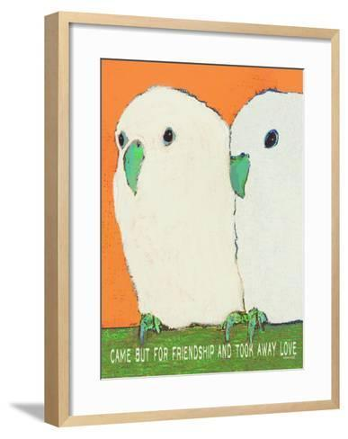 Came But For Friendship-Lisa Weedn-Framed Art Print