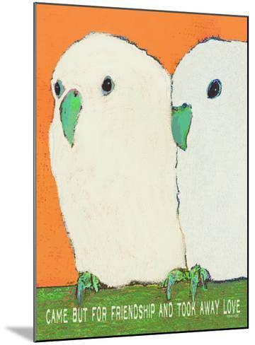 Came But For Friendship-Lisa Weedn-Mounted Giclee Print