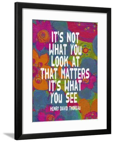 It's Not What You Look At-Lisa Weedn-Framed Art Print