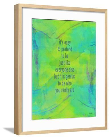 Its Easy To Pretend-Lisa Weedn-Framed Art Print