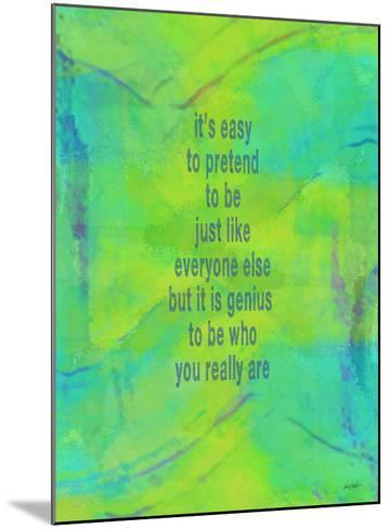 Its Easy To Pretend-Lisa Weedn-Mounted Giclee Print