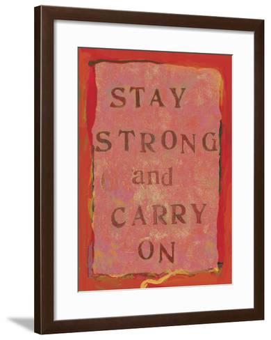 Stay Strong Ii-Lisa Weedn-Framed Art Print