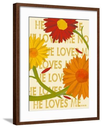 He Loves Me-Lisa Weedn-Framed Art Print