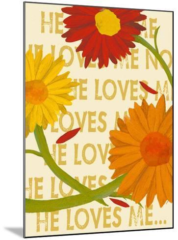 He Loves Me-Lisa Weedn-Mounted Giclee Print