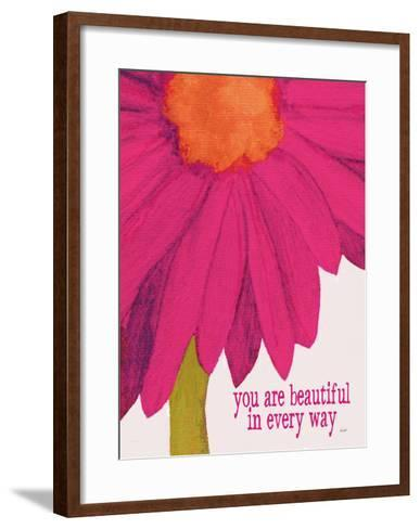 You Are Beautiful-Lisa Weedn-Framed Art Print