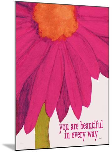 You Are Beautiful-Lisa Weedn-Mounted Giclee Print