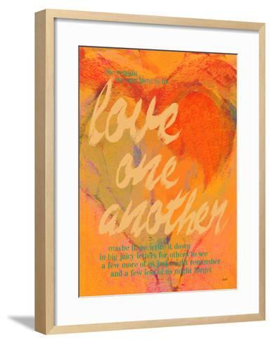 Love One Another-Lisa Weedn-Framed Art Print