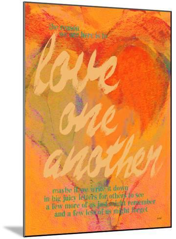 Love One Another-Lisa Weedn-Mounted Giclee Print