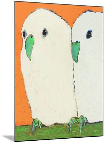 Parakeets No Text-Lisa Weedn-Mounted Giclee Print