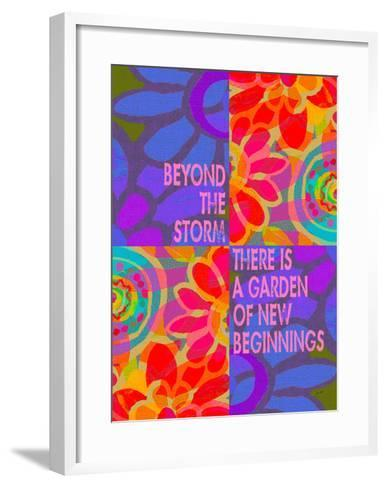 Beyond The Storm 2-Lisa Weedn-Framed Art Print