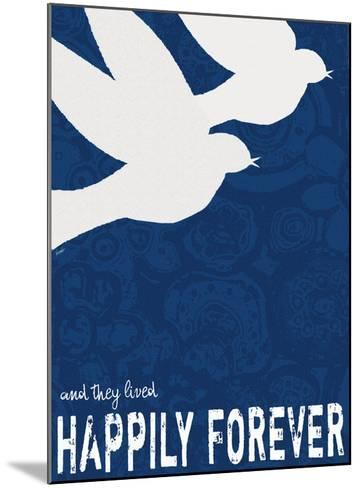 Happily Forever-Lisa Weedn-Mounted Giclee Print