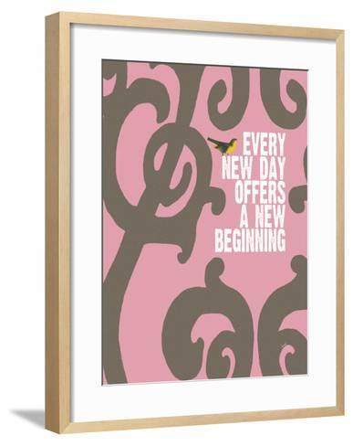 Every Day (Pink)-Lisa Weedn-Framed Art Print