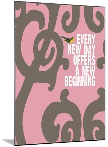 Every Day (Pink)-Lisa Weedn-Mounted Giclee Print