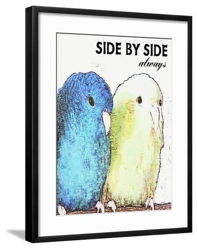 Side By Side Always-Lisa Weedn-Framed Art Print