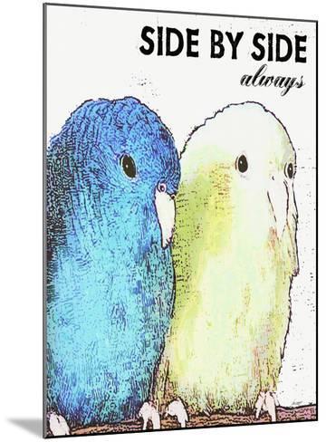Side By Side Always-Lisa Weedn-Mounted Giclee Print