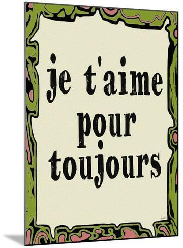 Jetaime Pour Toujours-Lisa Weedn-Mounted Giclee Print