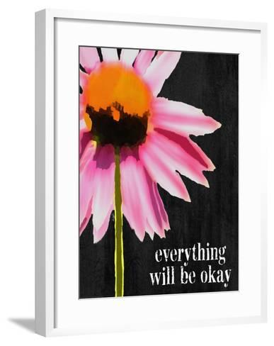 Everything Will Be Okay-Lisa Weedn-Framed Art Print