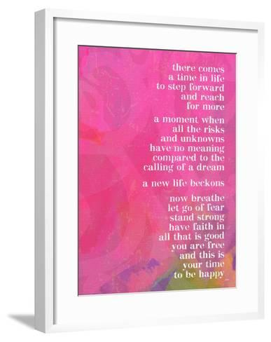 There Comes A Time In Life-Lisa Weedn-Framed Art Print