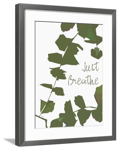 Just Breathe (Ivy)-Lisa Weedn-Framed Art Print