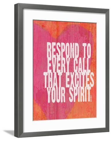 Respond To Every Call-Lisa Weedn-Framed Art Print