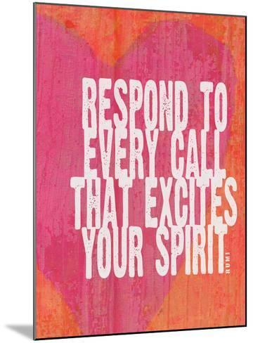 Respond To Every Call-Lisa Weedn-Mounted Giclee Print