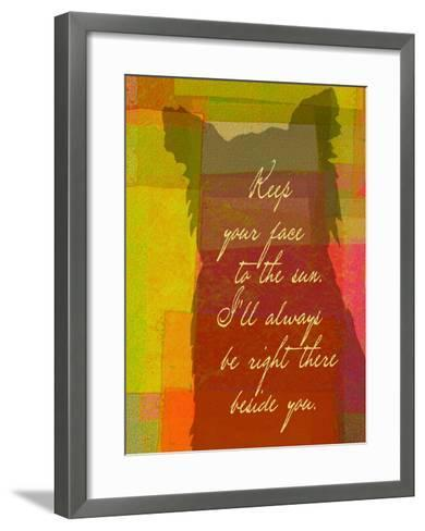 Keep Your Face To The Sun-Lisa Weedn-Framed Art Print