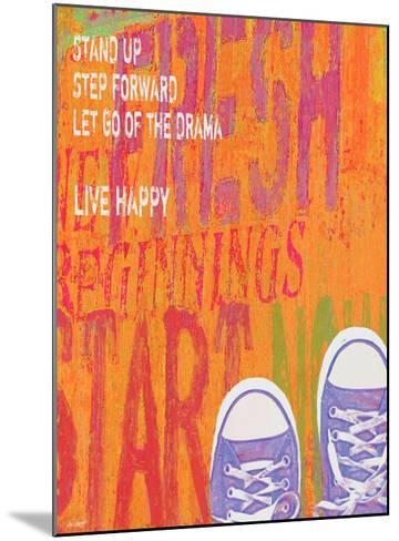 Stand Up-Lisa Weedn-Mounted Giclee Print