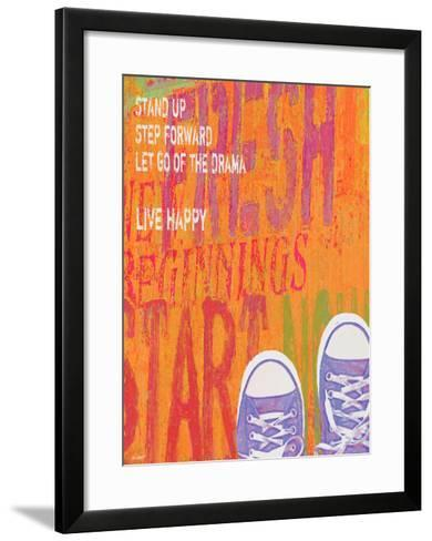 Stand Up-Lisa Weedn-Framed Art Print