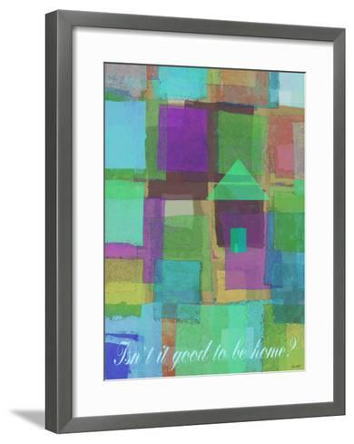 Isn't It Good To Be Home-Lisa Weedn-Framed Art Print