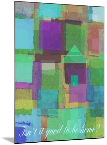 Isn't It Good To Be Home-Lisa Weedn-Mounted Giclee Print