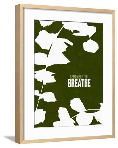 Remember To Breathe-Lisa Weedn-Framed Art Print