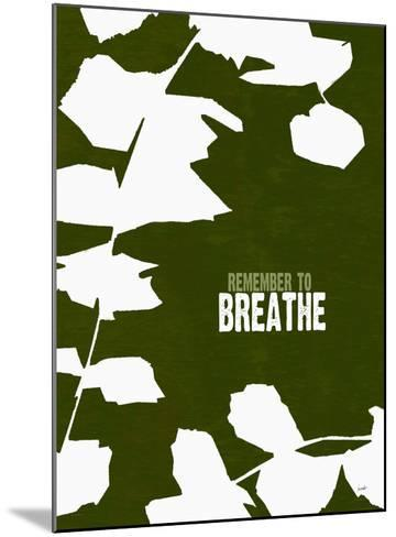 Remember To Breathe-Lisa Weedn-Mounted Giclee Print