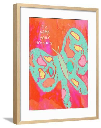 Fly With Your Dreams-Lisa Weedn-Framed Art Print
