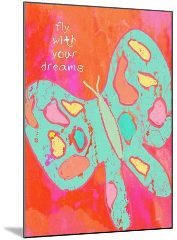 Fly With Your Dreams-Lisa Weedn-Mounted Giclee Print