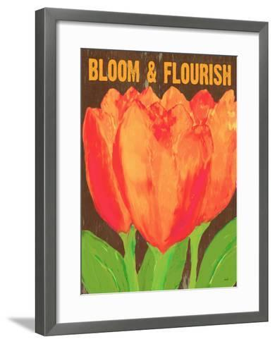 Bloom And Florish-Lisa Weedn-Framed Art Print