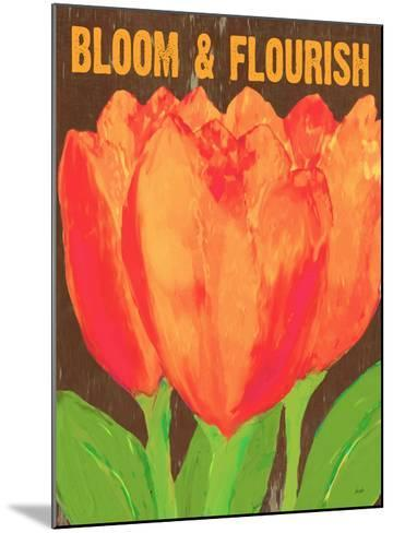 Bloom And Florish-Lisa Weedn-Mounted Giclee Print