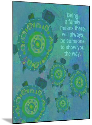 Being A Family - Turtle-Lisa Weedn-Mounted Giclee Print