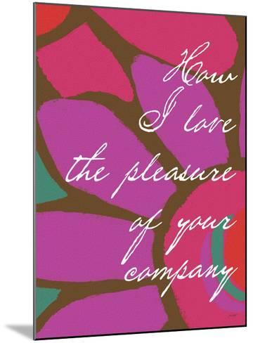 How I Love-Lisa Weedn-Mounted Giclee Print